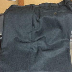 Dress slacks, never worn, charcoal gray